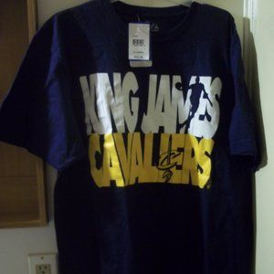 "new Lebron ""King James"" Cavaliers XL t-shirt"